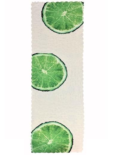 Alla Turca Runner-Yeşil Limon Renkli